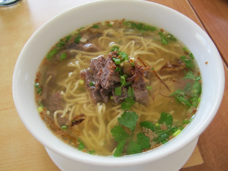 The famous La Paz Batchoy is a must try in Iloilo.