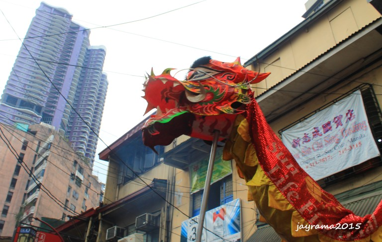 The longest dragon in Ongpin