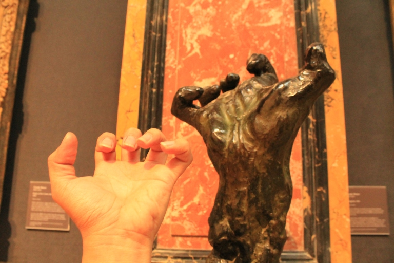 Large Clenched Hand by Rodin, 18th century