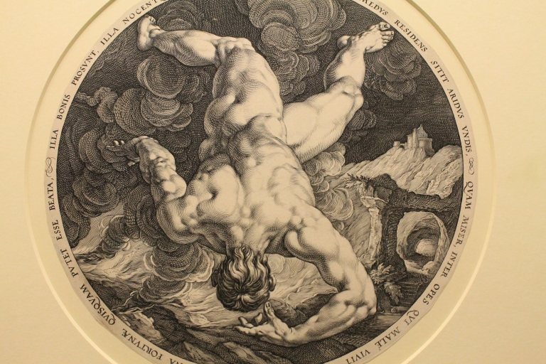 Steroids of Whey CHON? Tantalus by Hendrik Goltzius, 16th Century